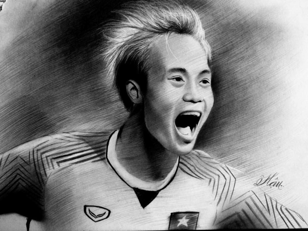 9X Quang Ngai qua ngoi but ghi lai khoanh khac toa sang cua U23 Viet Nam