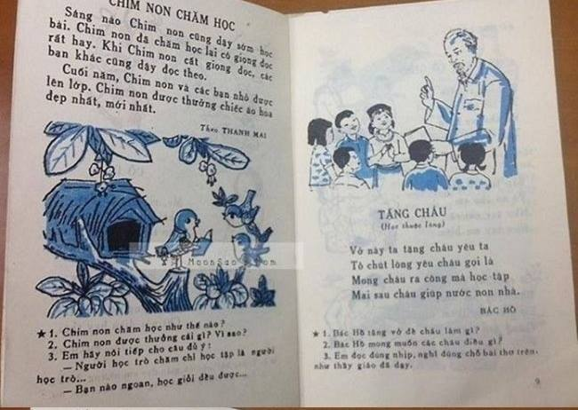 Dan mang hoai niem ve bai hoc lop 1 sau vu SGK Tieng Viet cai cach-Hinh-5