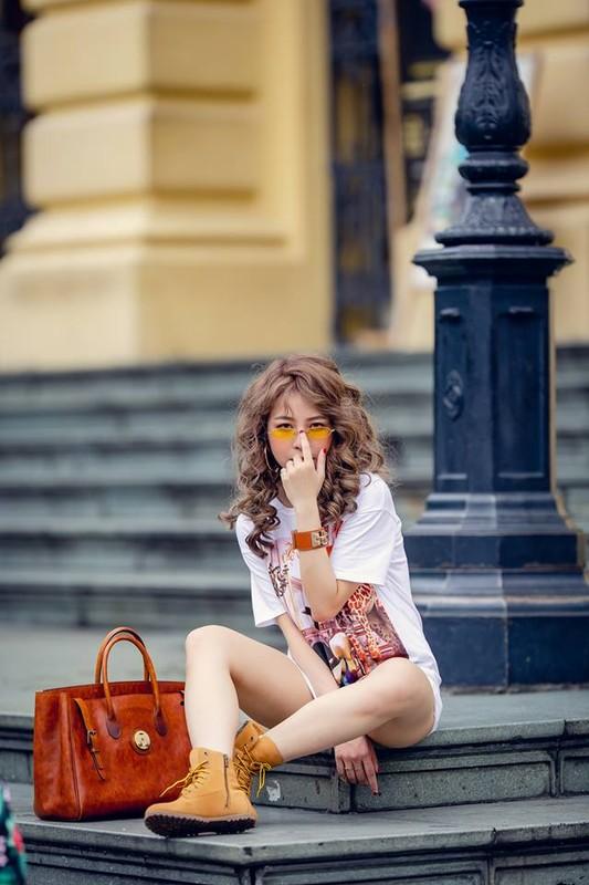Hot girl Tram Anh thay doi hinh anh sau lum xum tinh cam-Hinh-2