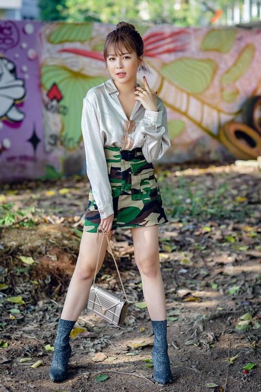 Hot girl Tram Anh thay doi hinh anh sau lum xum tinh cam-Hinh-8