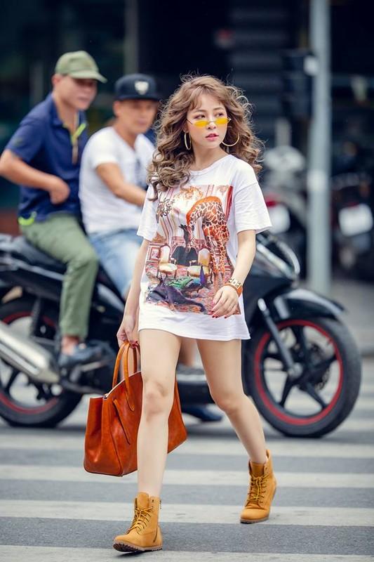 Hot girl Tram Anh thay doi hinh anh sau lum xum tinh cam
