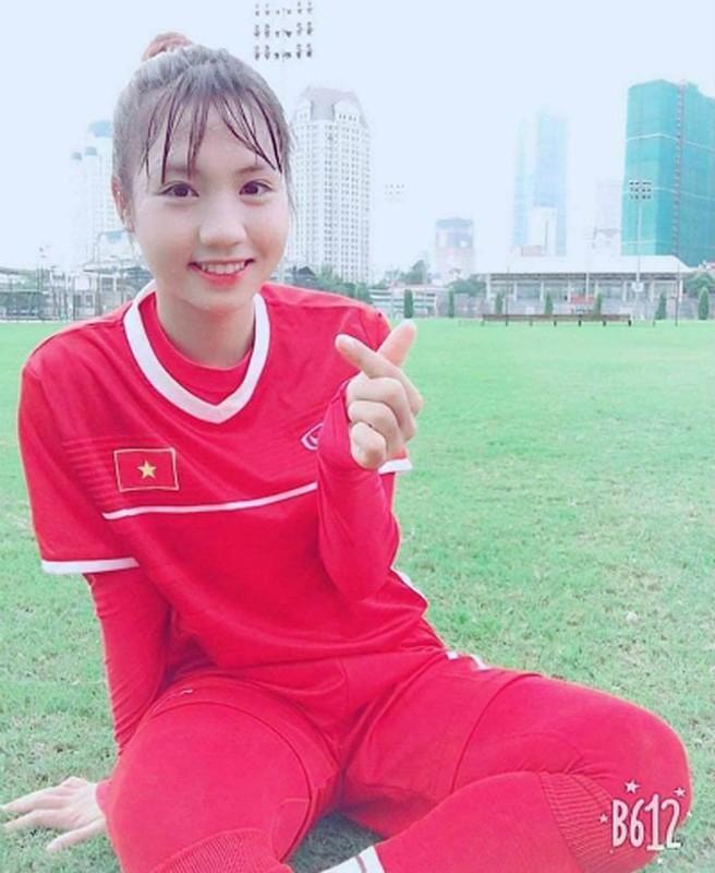 Dung tim voi 'nhan sac hut hon' cua nu tuyen thu U19 Viet Nam-Hinh-4