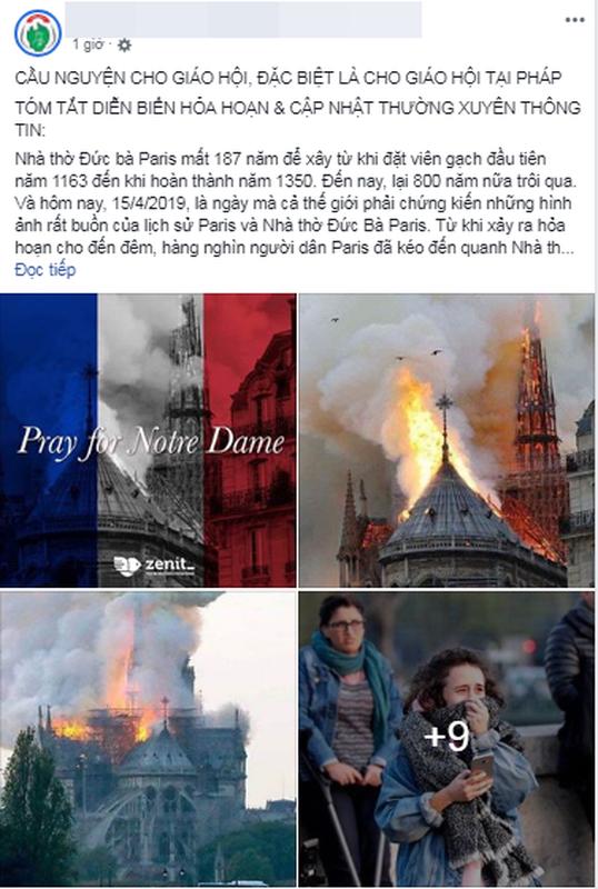 Chay Nha tho Duc Ba Paris, cu dan mang chia buon cung nuoc Phap-Hinh-7