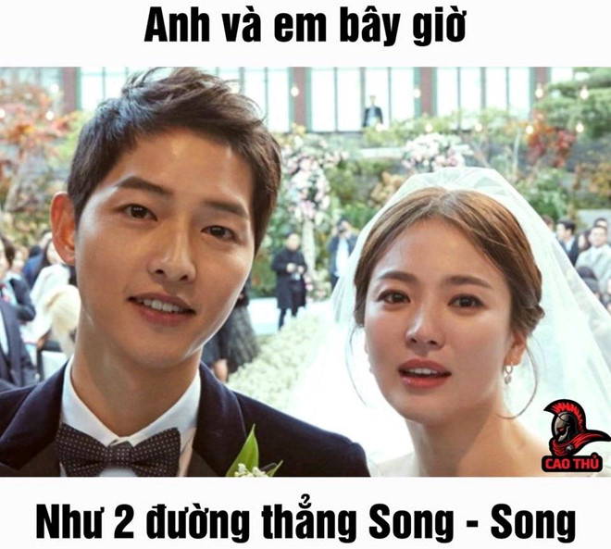 Tran ngap anh che giua tam bao Song Joong Ki - Song Hye Kyo ly hon