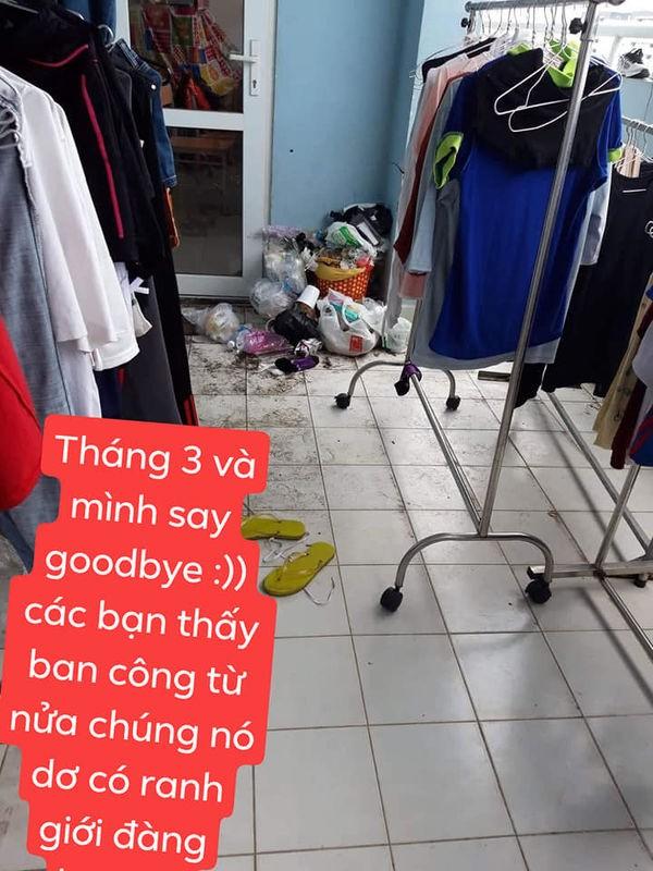 Rung minh voi phong ky tuc xa ban nhu bai rac cua nhom nu sinh-Hinh-7