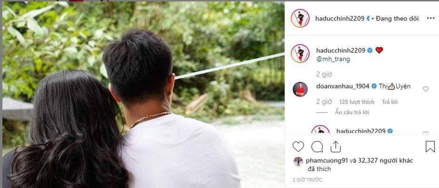 """Lan dau cong khai ban gai hot girl, Ha Duc Chinh bi dong bon """"choc que""""-Hinh-2"""