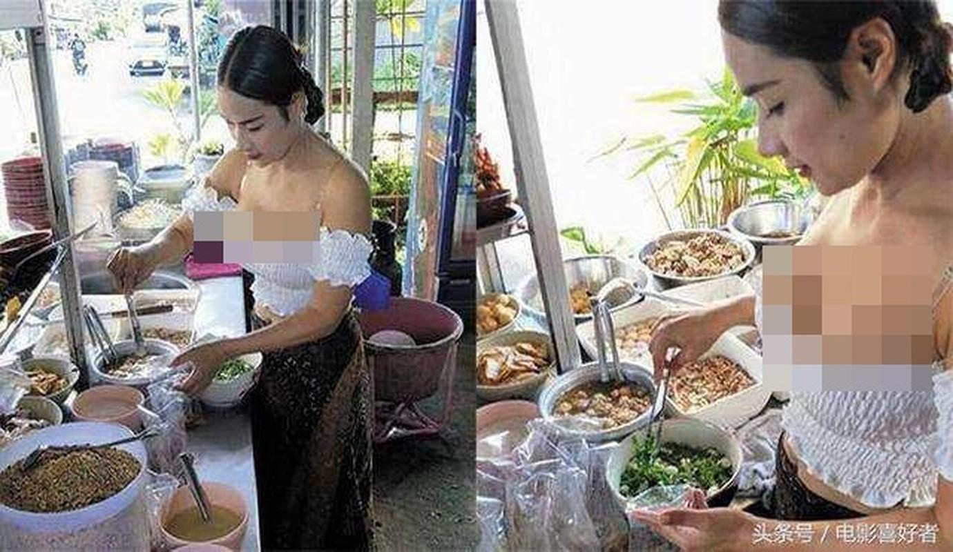 Hot girl Thai ban chuoi chien an mac