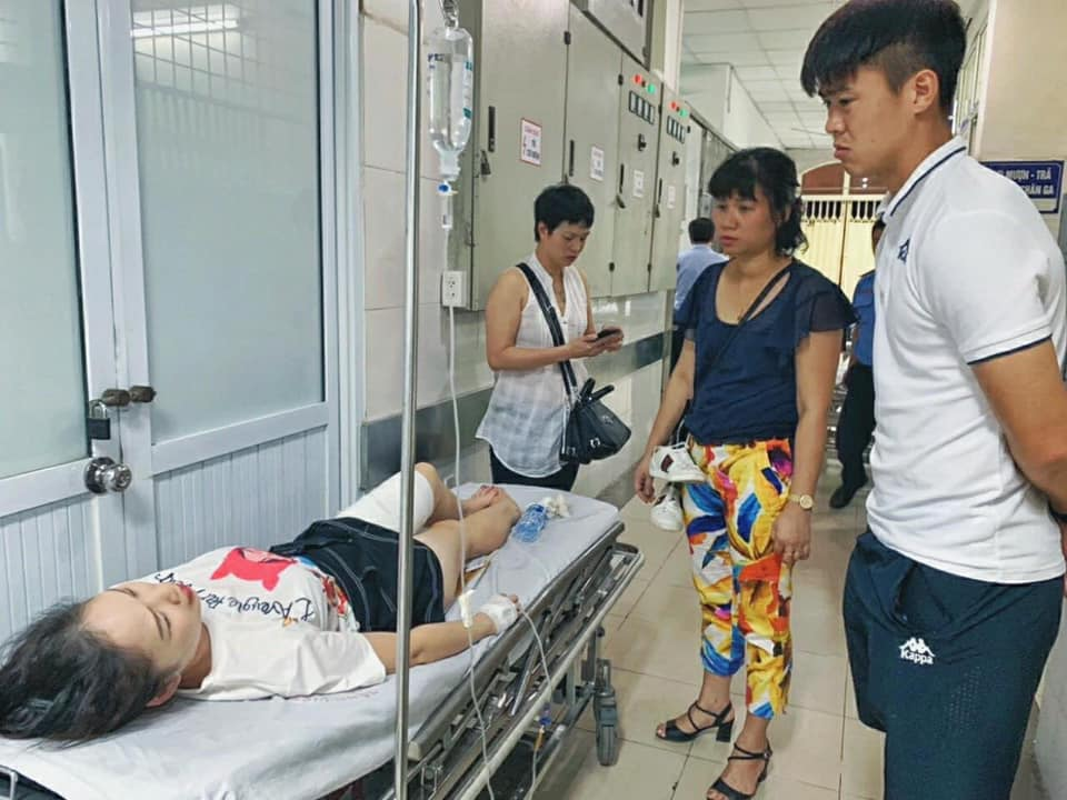 Toan canh vu fan nu trung phao sang CDV Nam Dinh tren SVD Hang Day-Hinh-10