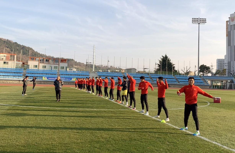 U23 Viet Nam tap huan Han Quoc: Quang Hai, Dinh Trong nhan dac cach-Hinh-2
