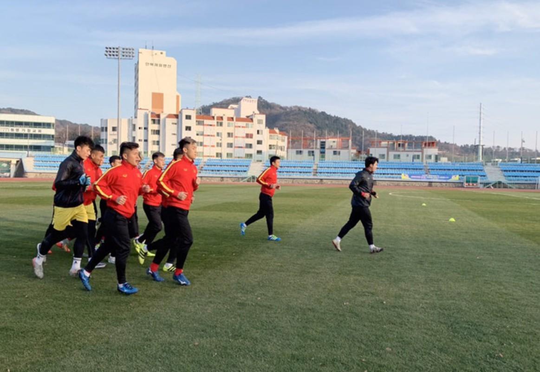 U23 Viet Nam tap huan Han Quoc: Quang Hai, Dinh Trong nhan dac cach-Hinh-3