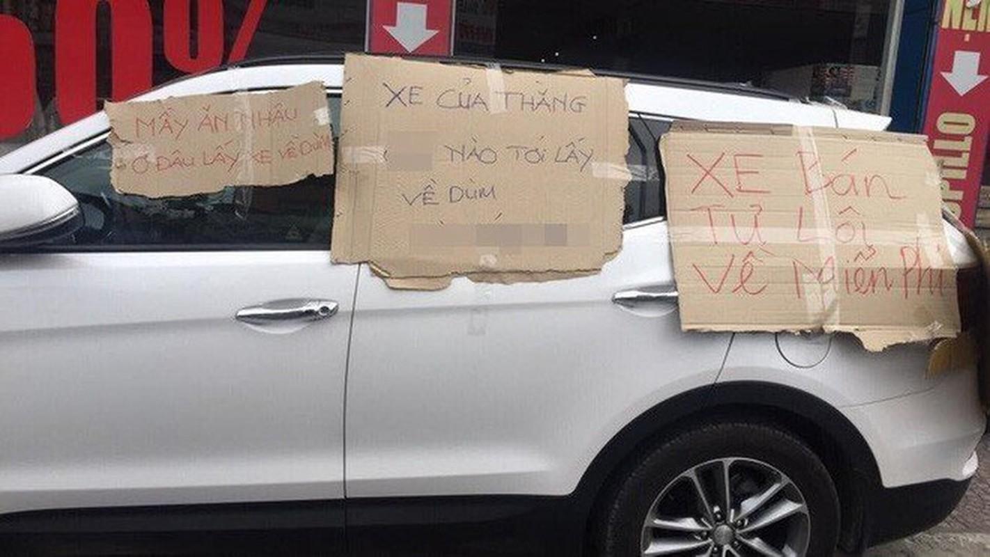 """Do xe thieu y thuc di chuc Tet, tai xe """"tim mat"""" khi nhan duoc qua-Hinh-6"""