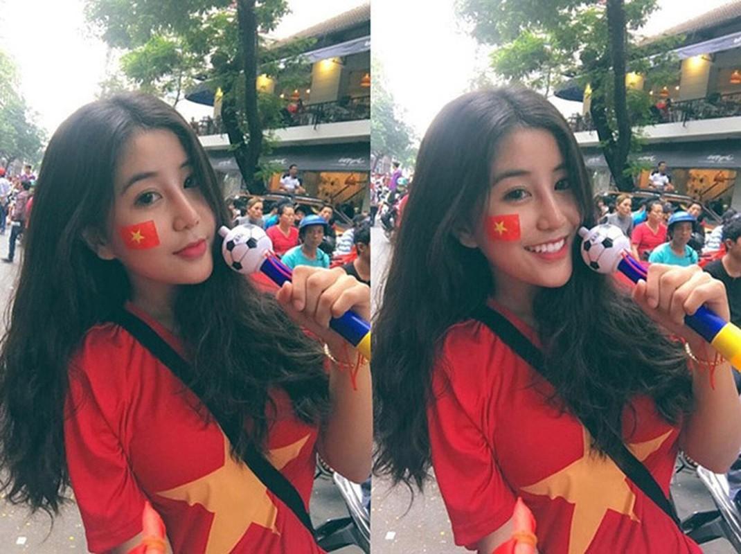 Vao dai hoc, fan girl U23 Viet Nam bi soi than hinh