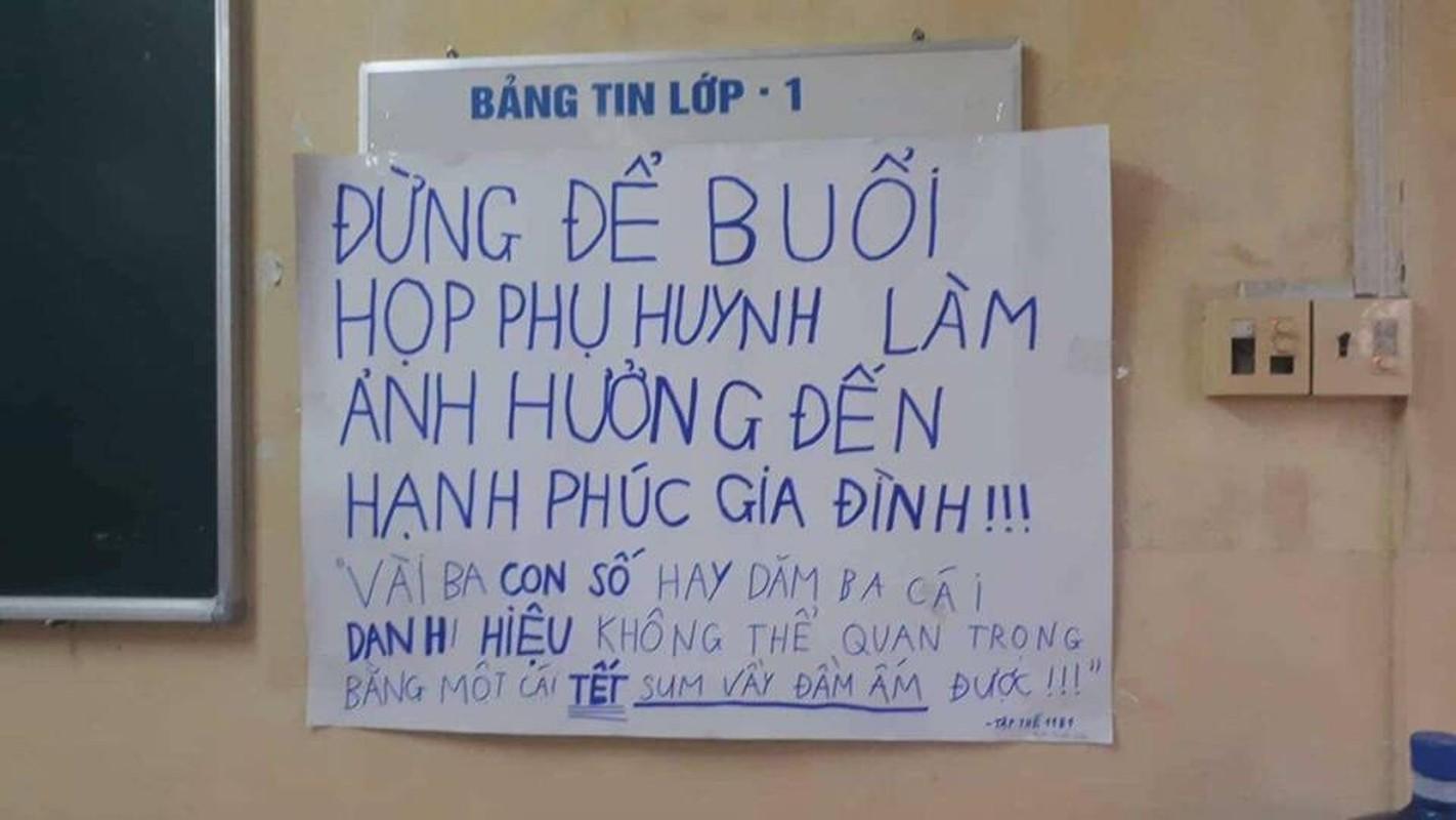 Buoi hop phu huynh va loi nhan nhu day an y cua hoc sinh