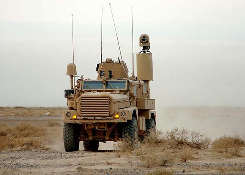 Xe boc thep My dam thang vao thiet giap BTR-80 Nga tai Syria-Hinh-14
