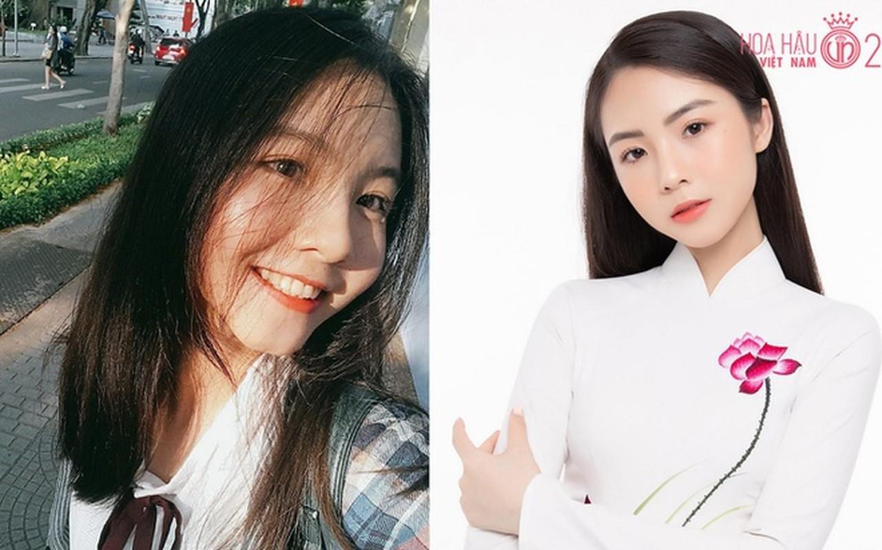 Nhan sac doi thuong cua thi sinh Hoa hau Viet Nam 2020