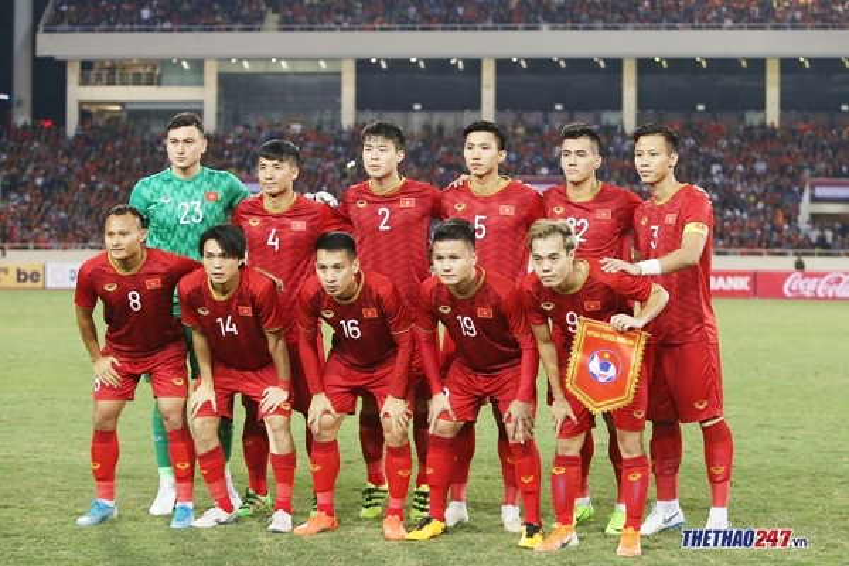 DT Viet Nam sap hoi quan chuan bi cho VL World Cup 2022