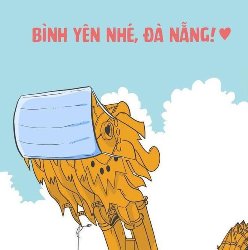 Dan mang ve hinh, co vu 'Da Nang oi, co len nhe' truoc dich benh COVID-19-Hinh-2