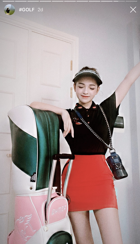 Khoe do hieu xua roi, hot girl Viet sang chanh phai di choi golf-Hinh-5