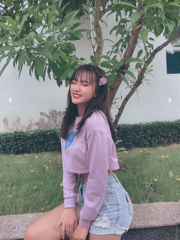 Thi sinh Hoa Hau Viet Nam co mai toc nhu idol Han-Hinh-7