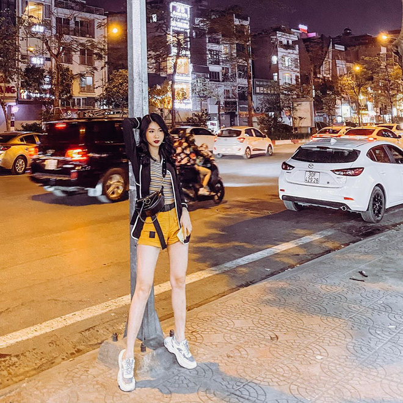 Di thi Hoa hau Viet Nam 2020, ban gai cu Trong Dai gay chu y-Hinh-6