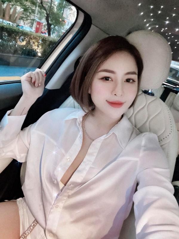 Chiec quan phan chu, hot girl Tram Anh lo vung sieu nhay cam-Hinh-10