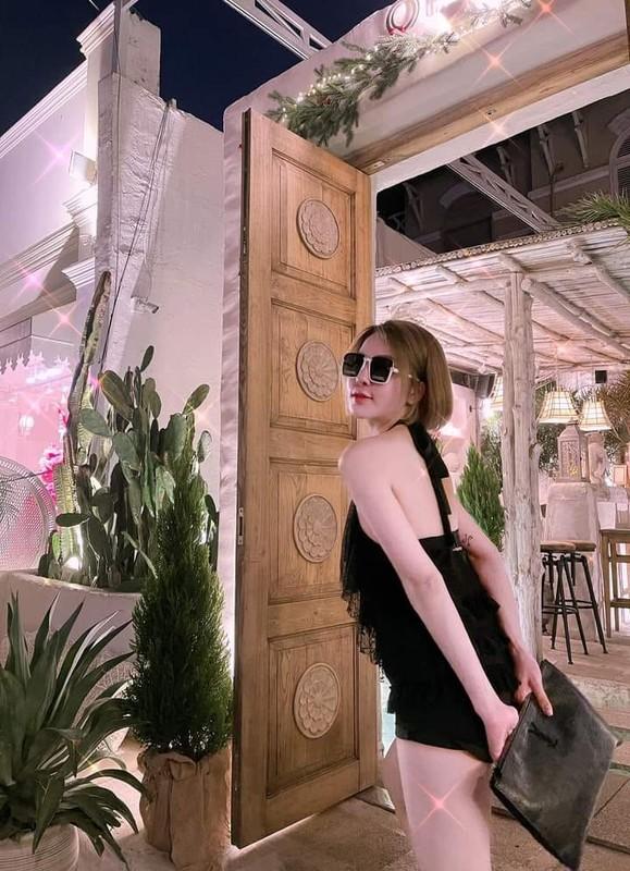 Chiec quan phan chu, hot girl Tram Anh lo vung sieu nhay cam-Hinh-7