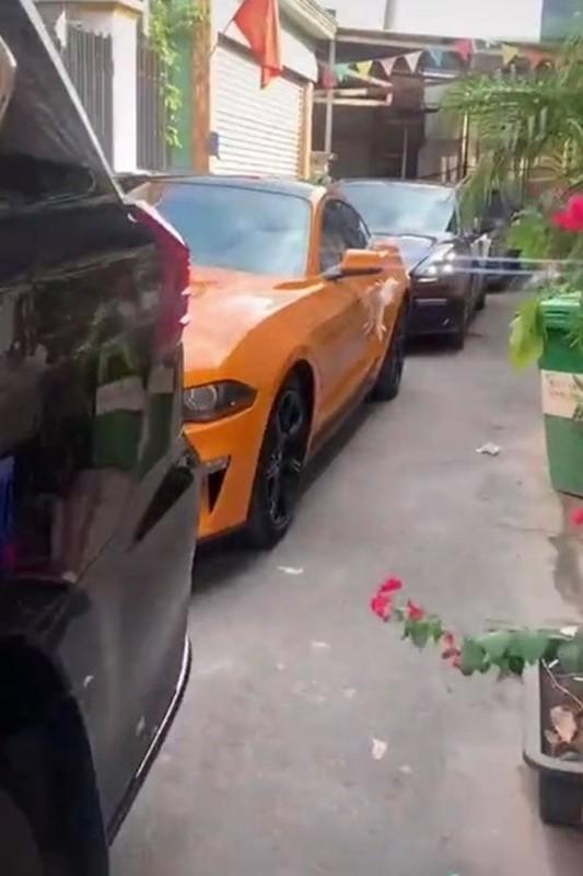Dan sieu xe trong le ruoc dau o Dong Nai gay choang vang-Hinh-3