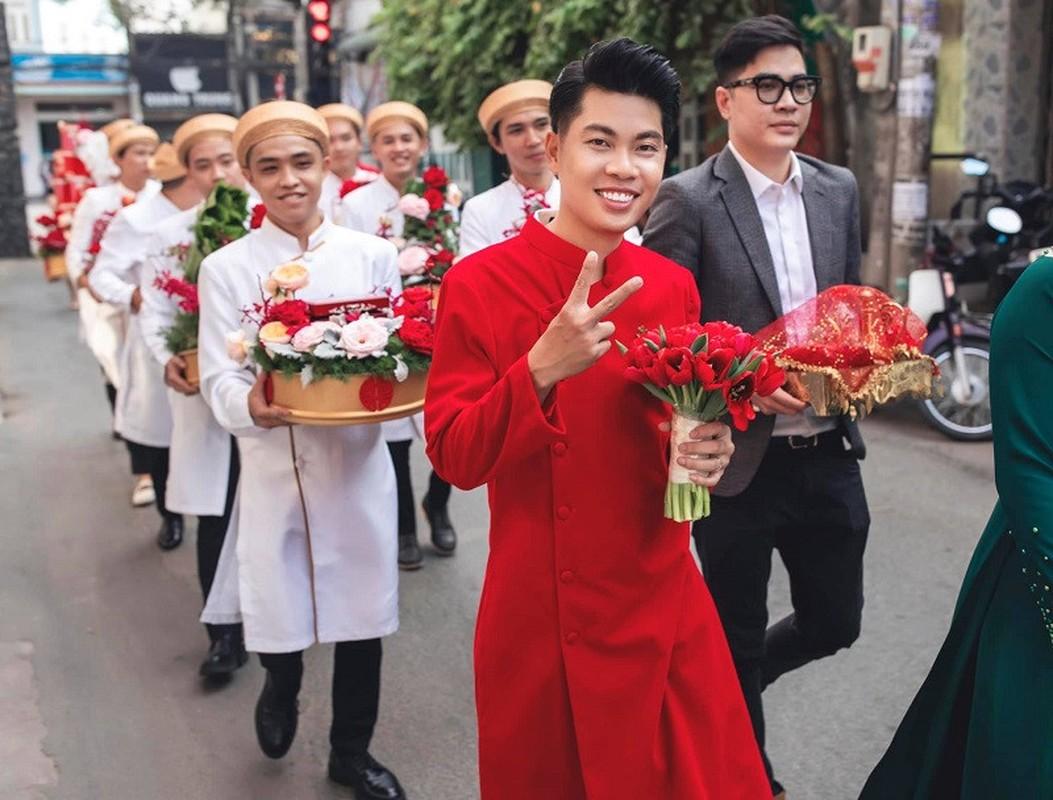 Dan sieu xe trong le ruoc dau o Dong Nai gay choang vang-Hinh-7