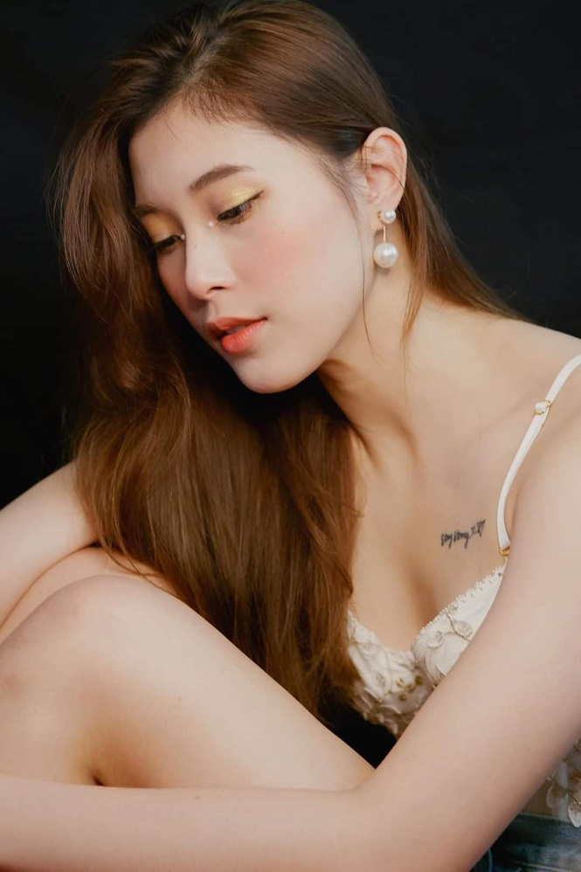 Hau tin don giai nghe, Dang Thu Huyen lo lung tran dep mien che-Hinh-6