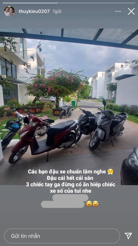 Tro ly Ngoc Trinh tiet lo chiec xe dang di, netizen