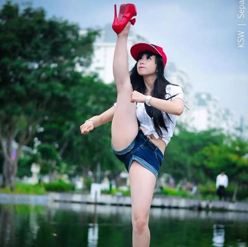 Khoe biet tai xoac chan thuong thua, hot girl Taekwondo Viet gay sot-Hinh-10