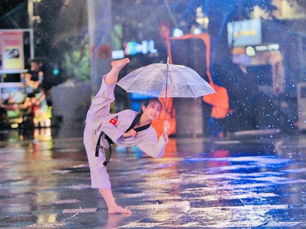Khoe biet tai xoac chan thuong thua, hot girl Taekwondo Viet gay sot-Hinh-8