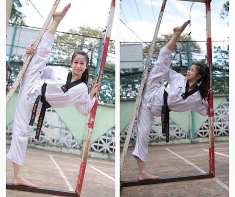 Khoe biet tai xoac chan thuong thua, hot girl Taekwondo Viet gay sot-Hinh-9