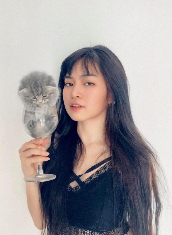Dien co phuc Viet Nam, hot girl Mat Biec mo thanh Hoang hau-Hinh-12