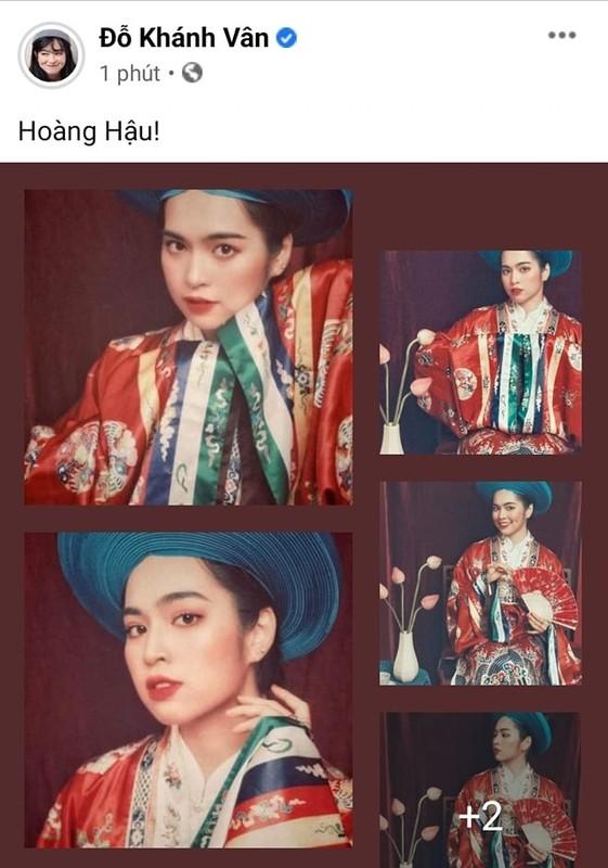 Dien co phuc Viet Nam, hot girl Mat Biec mo thanh Hoang hau-Hinh-3