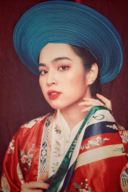 Dien co phuc Viet Nam, hot girl Mat Biec mo thanh Hoang hau-Hinh-5