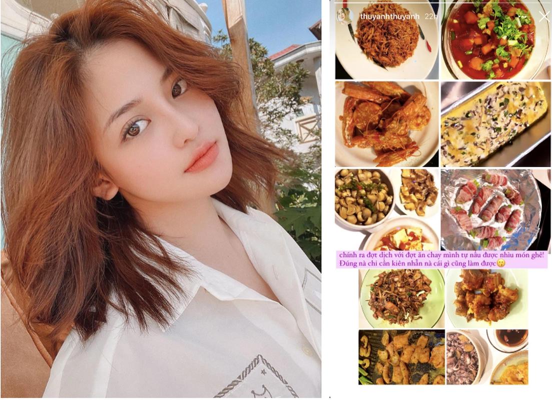 Dan hot girl Viet tro tai bep nuc, netizen khen
