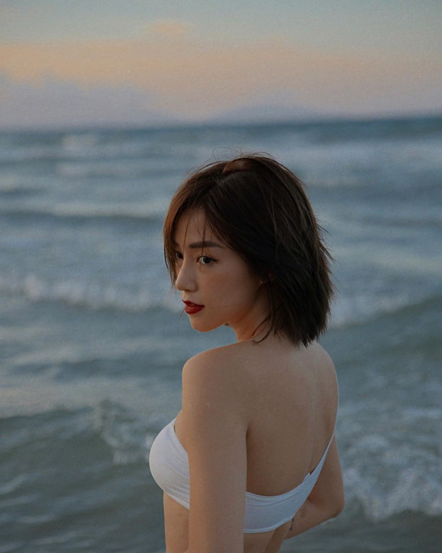 Hot girl Ha thanh tap lam