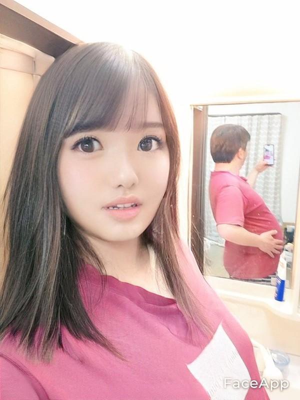 Dung FaceApp, ong chu tuoi 50 bien thanh hot girl gay sot mang-Hinh-4
