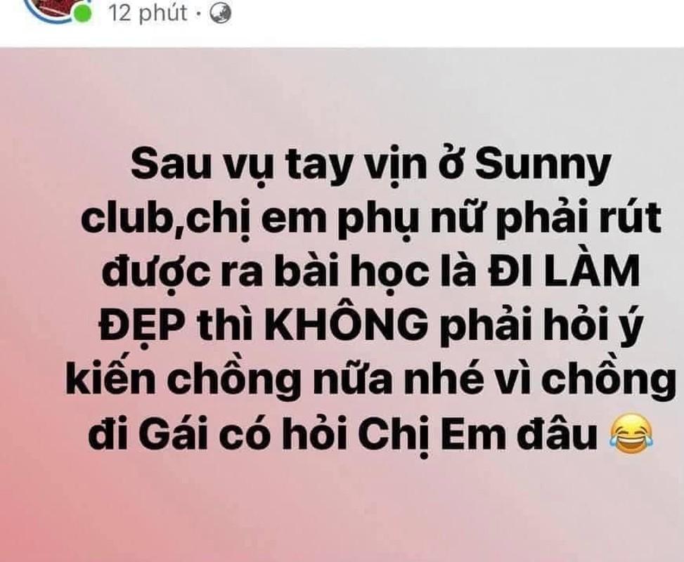 Xon xao clip bar Sunny, hoi chi em dan mat cac ong chong-Hinh-5