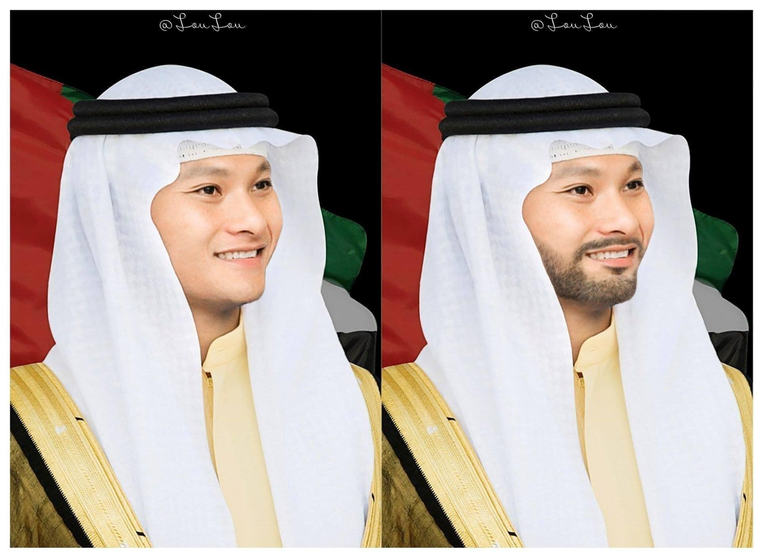 Nhập gia tùy tục, vừa sang UAE đội tuyển Việt Nam diện Kandura