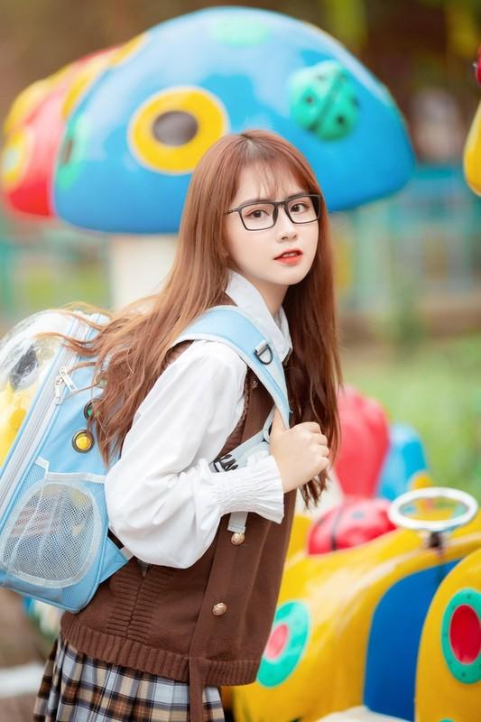 Nu sinh ben duyen voi mau anh va duoc khen xinh nhu hot girl Han Quoc-Hinh-6