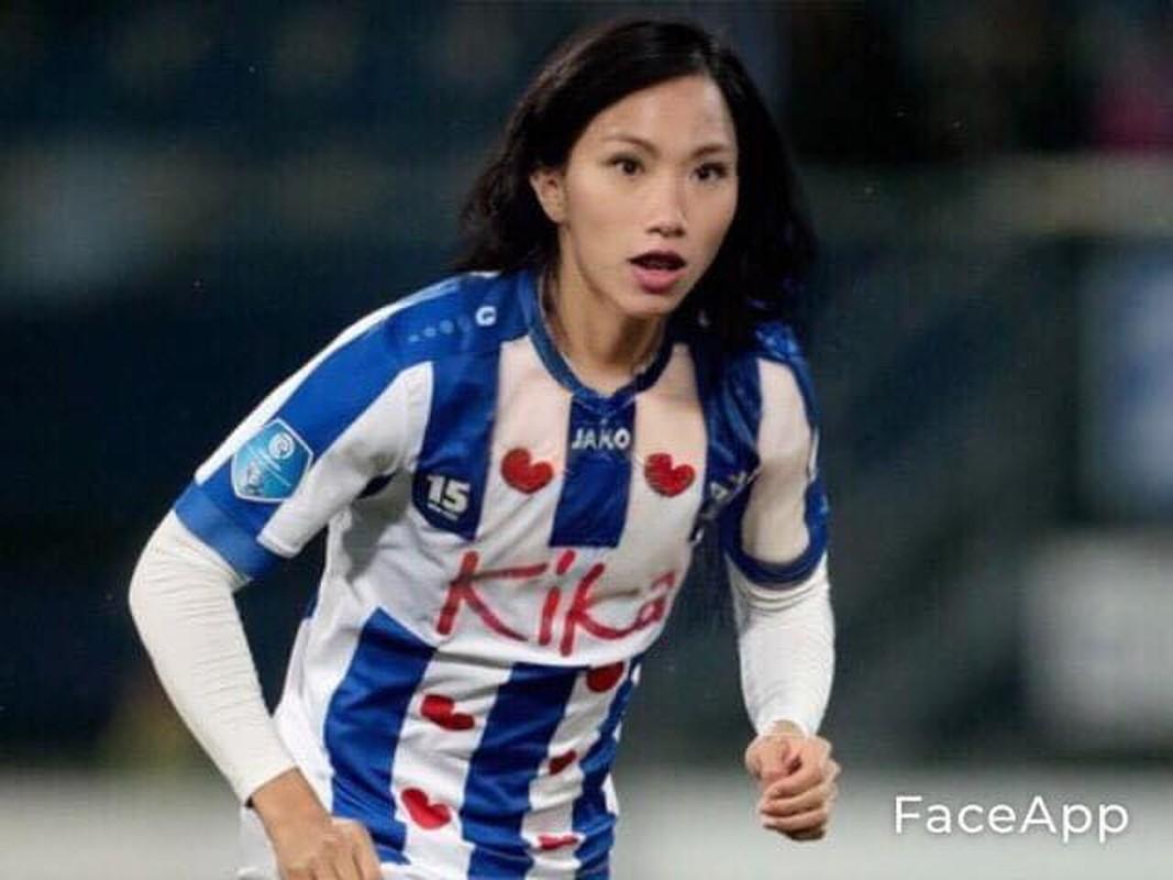 Truoc tran Malaysia, cau thu doi tuyen Viet Nam bong hoa gai xinh-Hinh-5