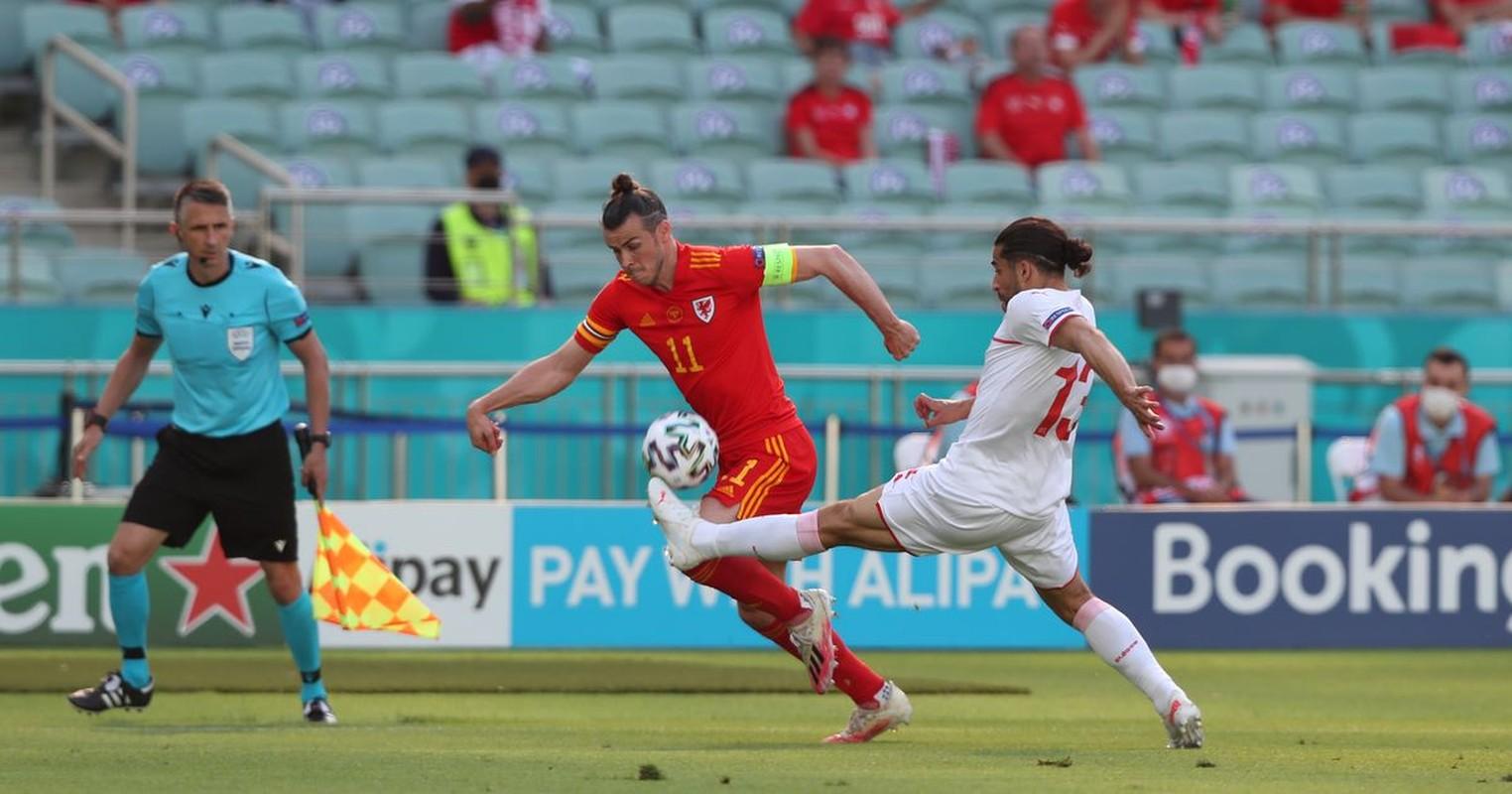 VCK EURO 2020: Choi hay, Thuy Si hoa dang tiec voi Xu Wales