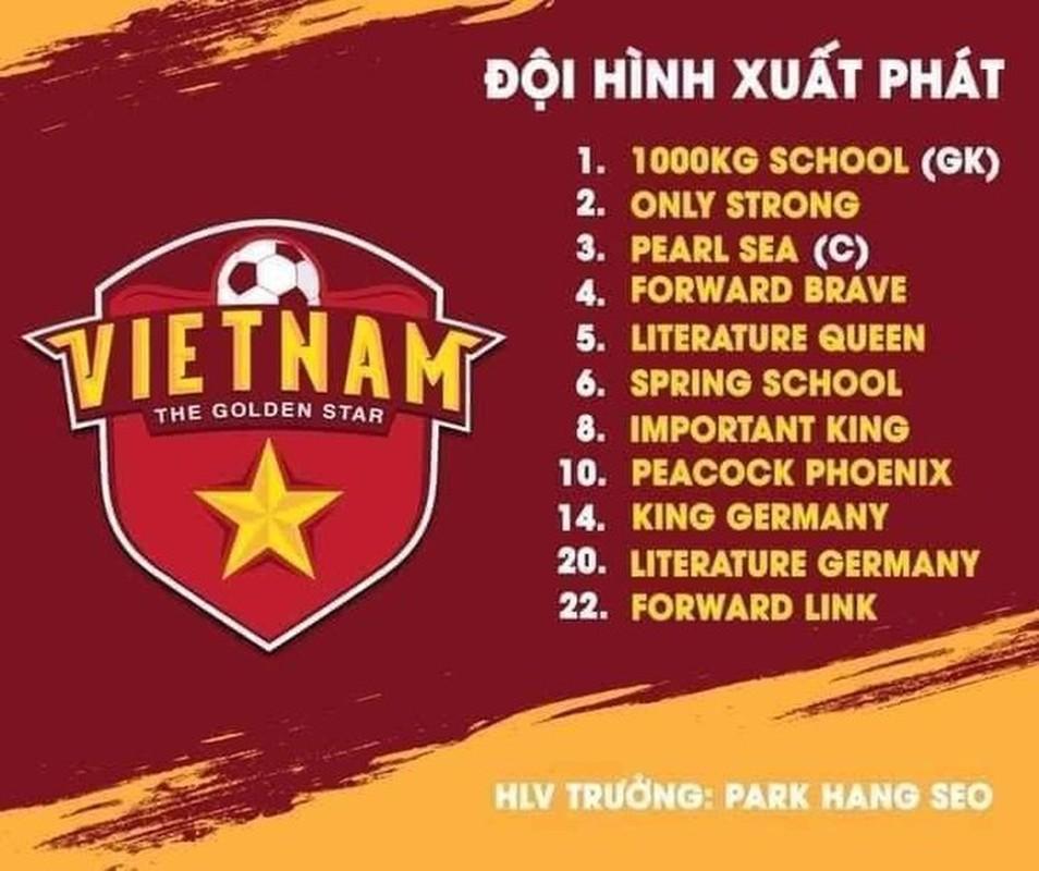 """Netizen trổ tài """"Ielts 10 chấm"""" dịch tên cầu thủ đội tuyển Việt Nam"""