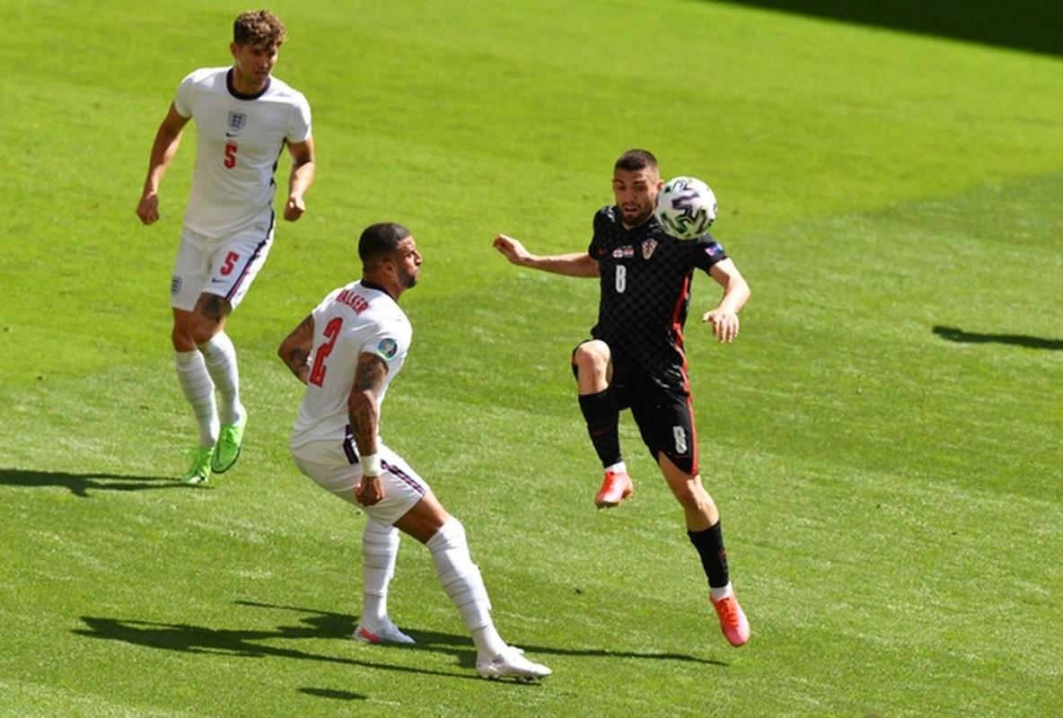 Sterling ghi ban, doi tuyen Anh danh bai Croatia ngay ra quan EURO 2020