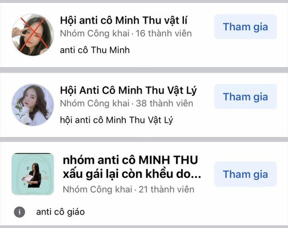 Co giao Minh Thu bat ngo co group anti fan vi ly do nay-Hinh-3