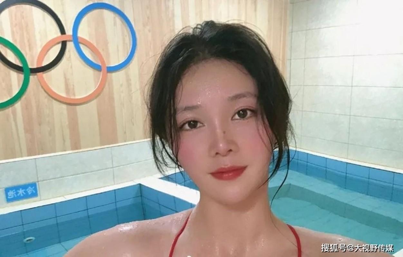 Nu than bong nuoc Trung Quoc khien khan gia Olympic Tokyo say dam