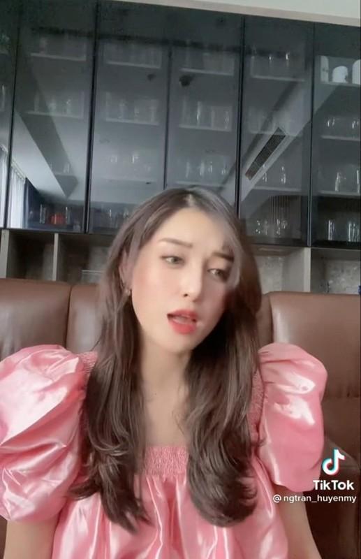 Tung clip bat trend, A hau Huyen My bi soi chiec mui khac la-Hinh-3
