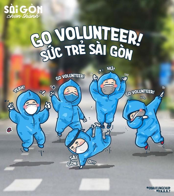 Bo tranh Sai Gon chong dich sieu cute ai cung mim cuoi-Hinh-7